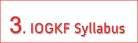 IOGKF & EGKA Garding Syllabus - Learn more